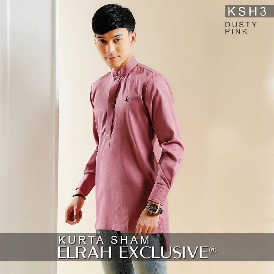 Kurta Sham Dusty Pink