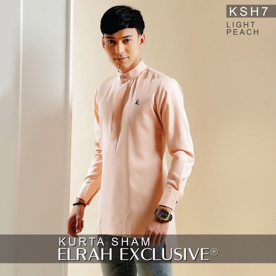 Kurta Sham Light Peach