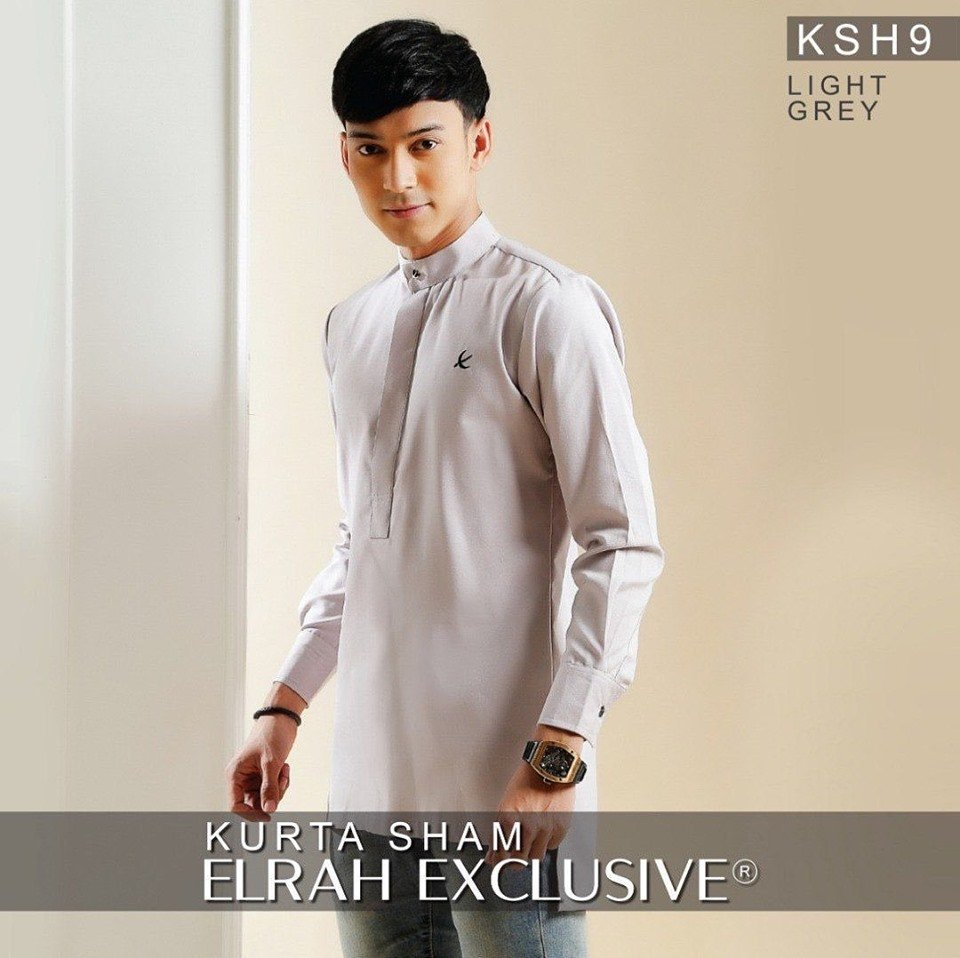 Kurta Sham Light Grey