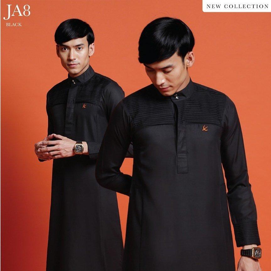 Jubah Abdullah Black