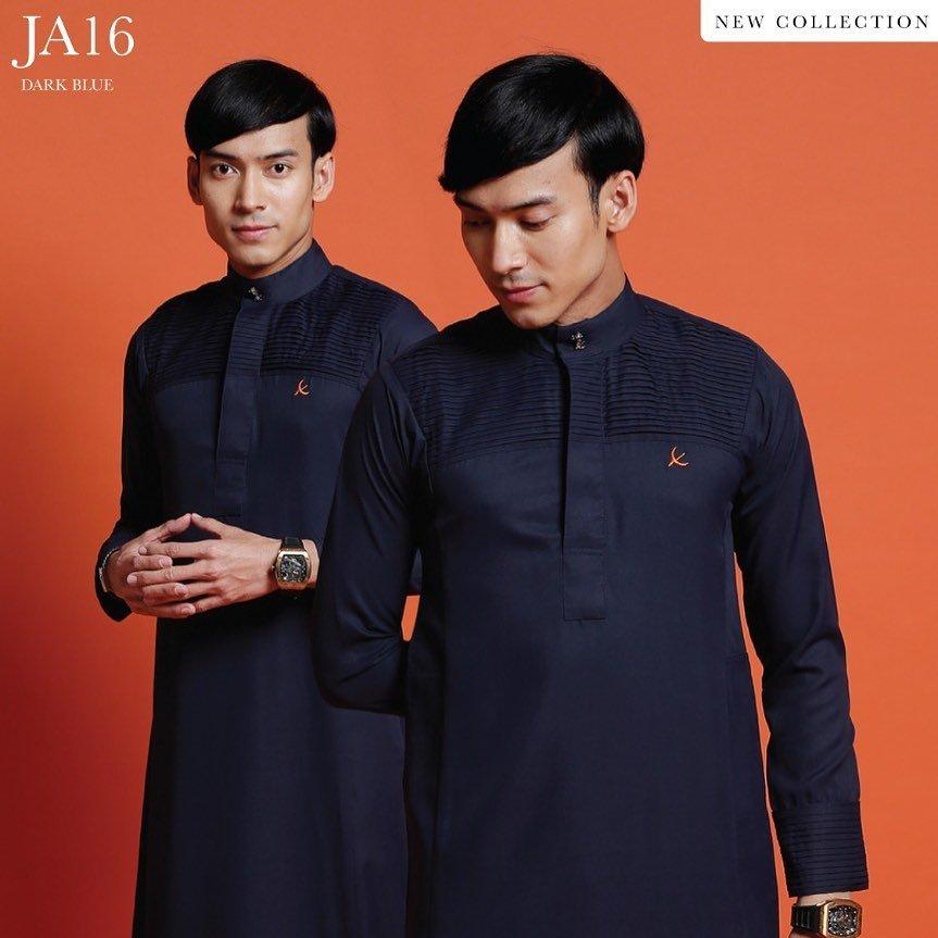Jubah Abdullah Dark Blue