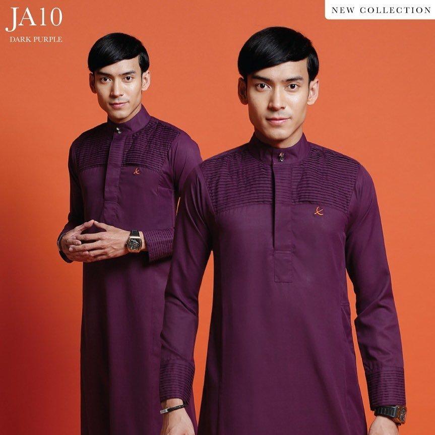 Jubah Abdullah Dark purple