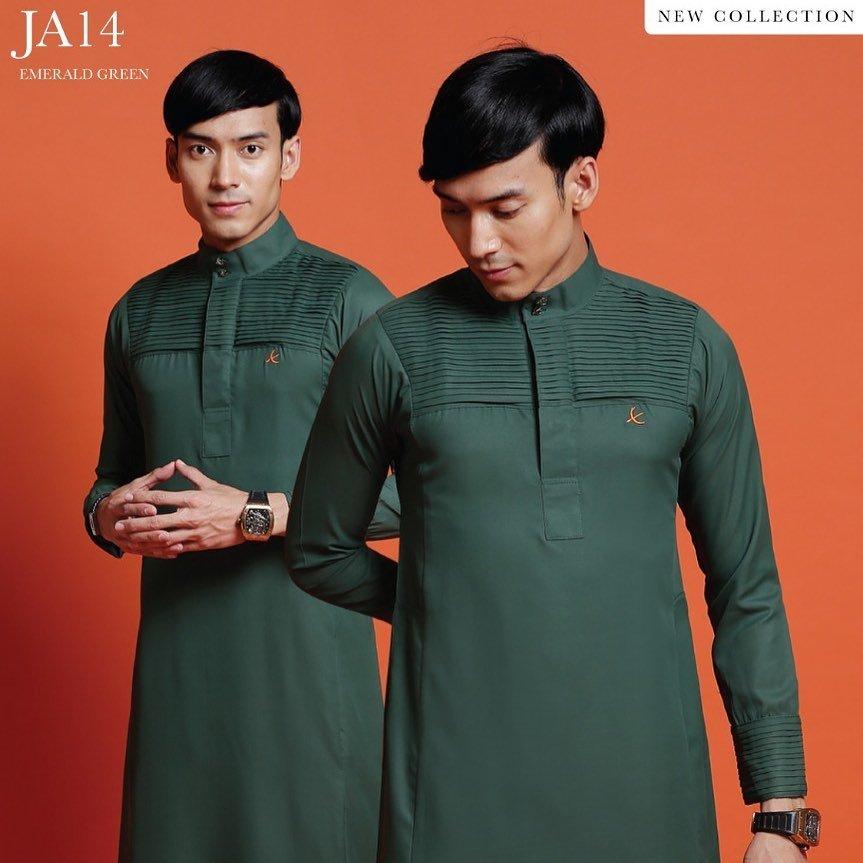 Jubah Abdullah Emerald Green
