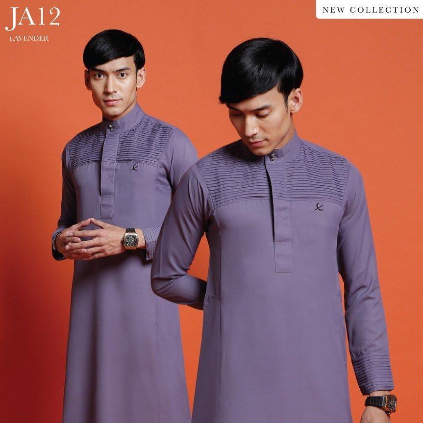 Jubah Abdullah Lavender