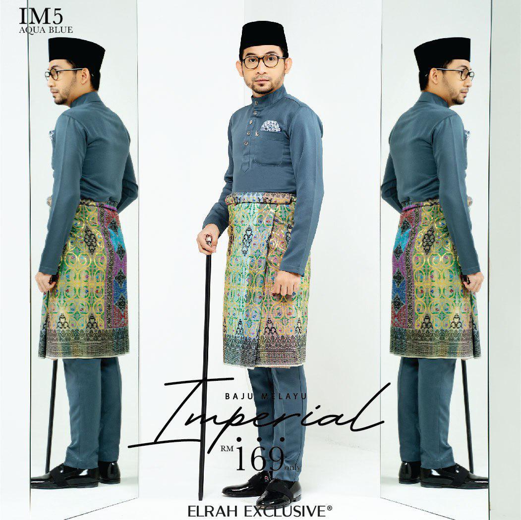 Baju Imperial Aqua Blue