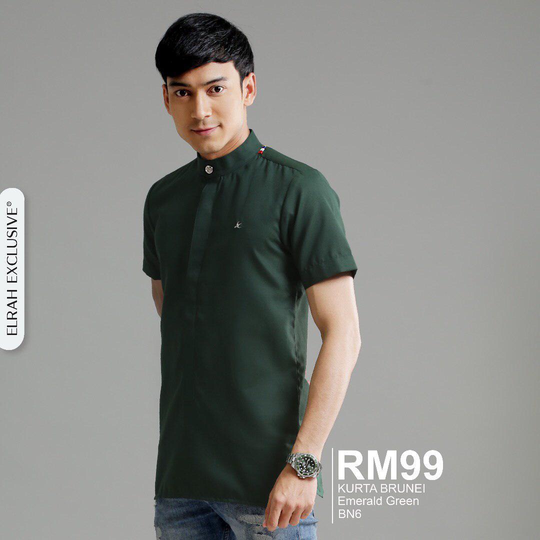 Kurta Brunei Emerald Green