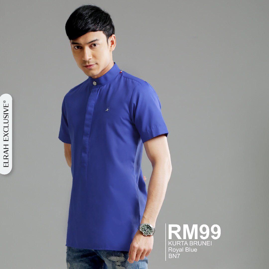 Kurta Brunei Royal Blue