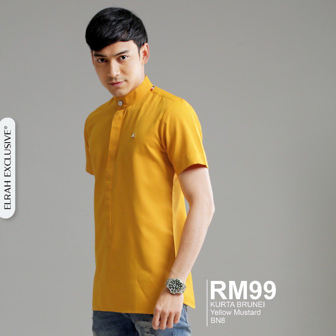 Kurta Brunei Yellow Mustard