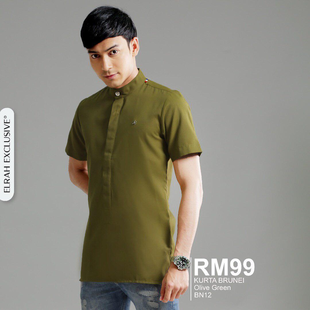 Kurta Brunei Olive Green