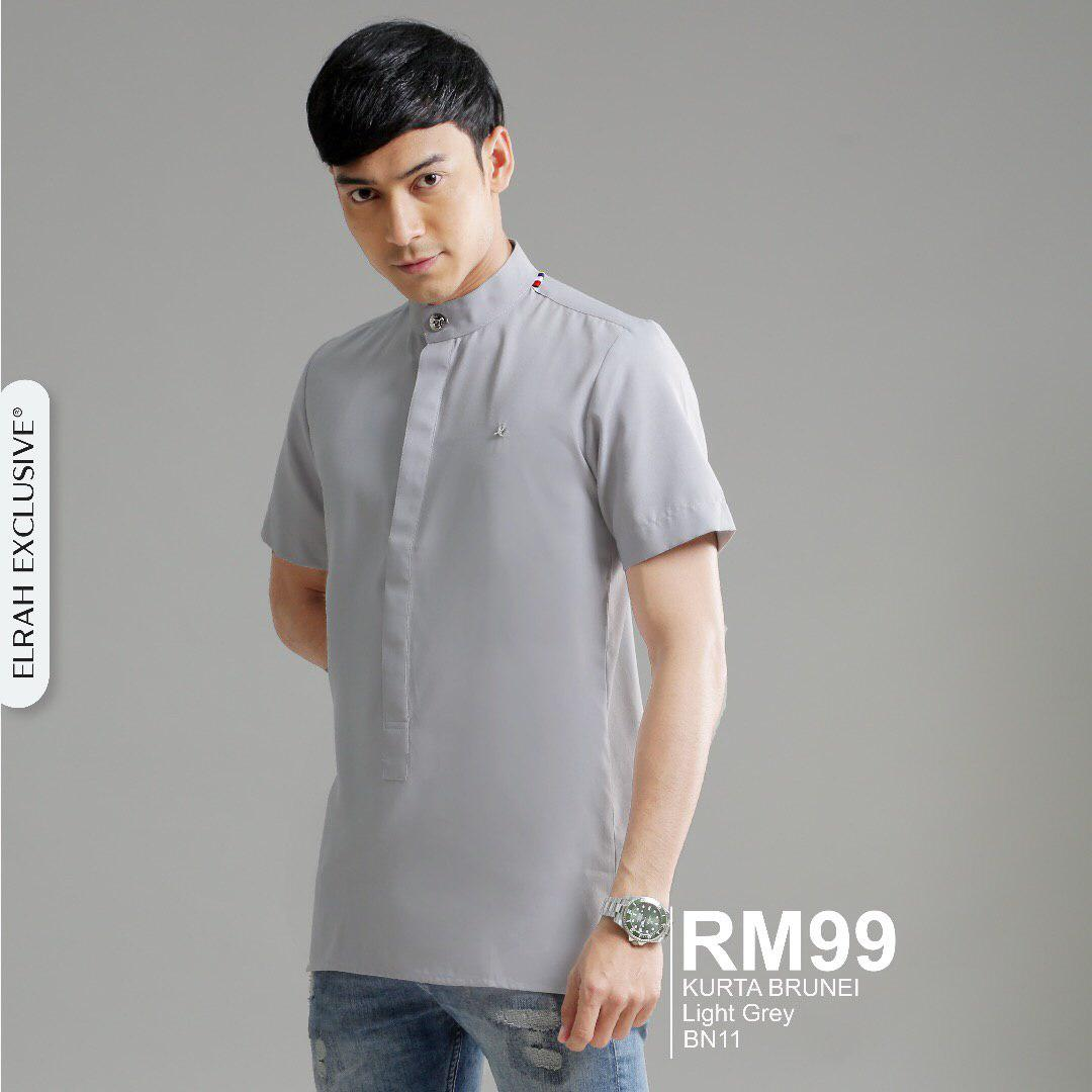 Kurta Brunei Light Grey
