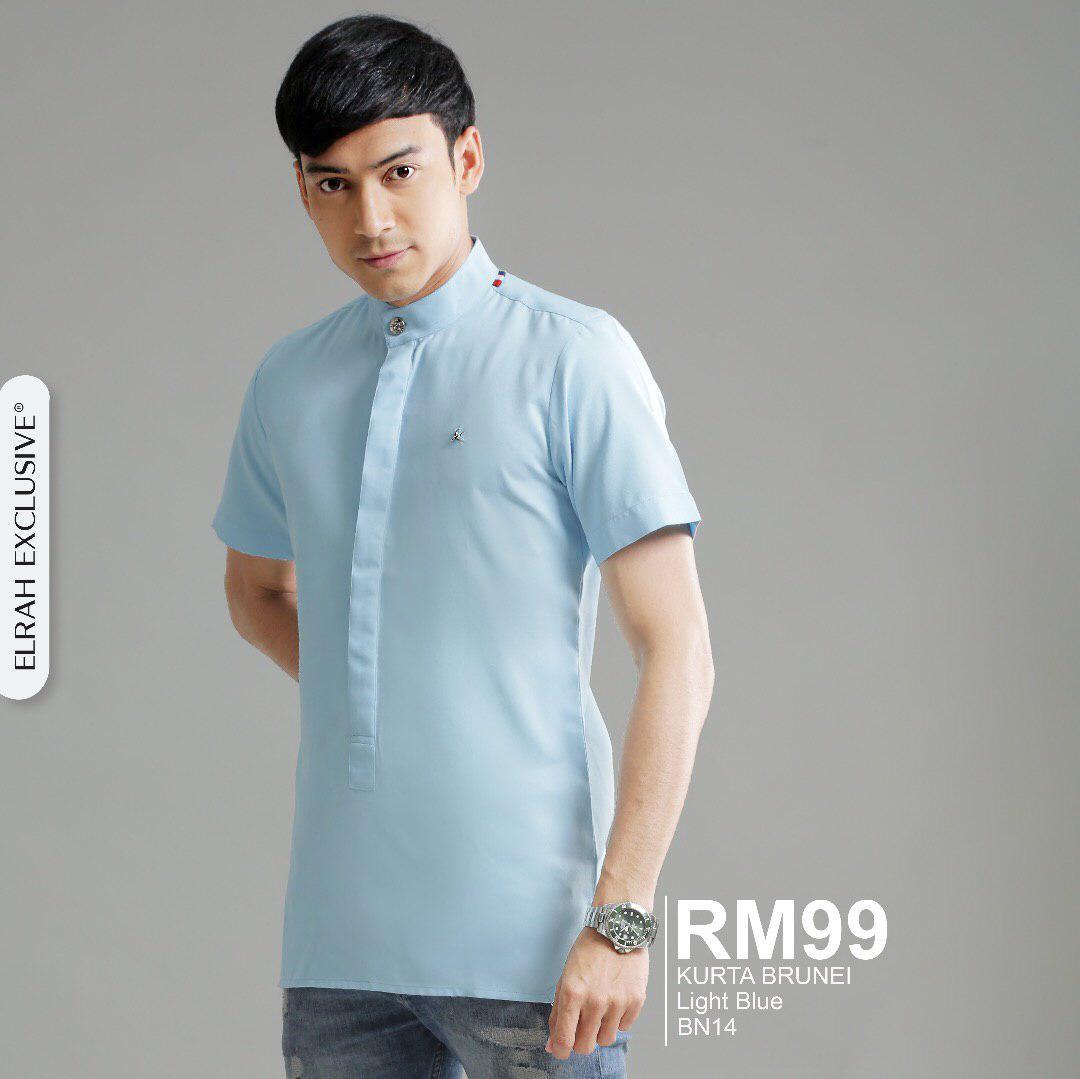 Kurta Brunei Light Blue