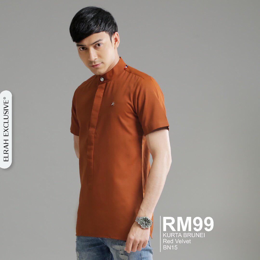 Kurta Brunei Red Velvet