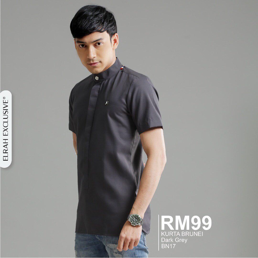 Kurta Brunei Dark Grey