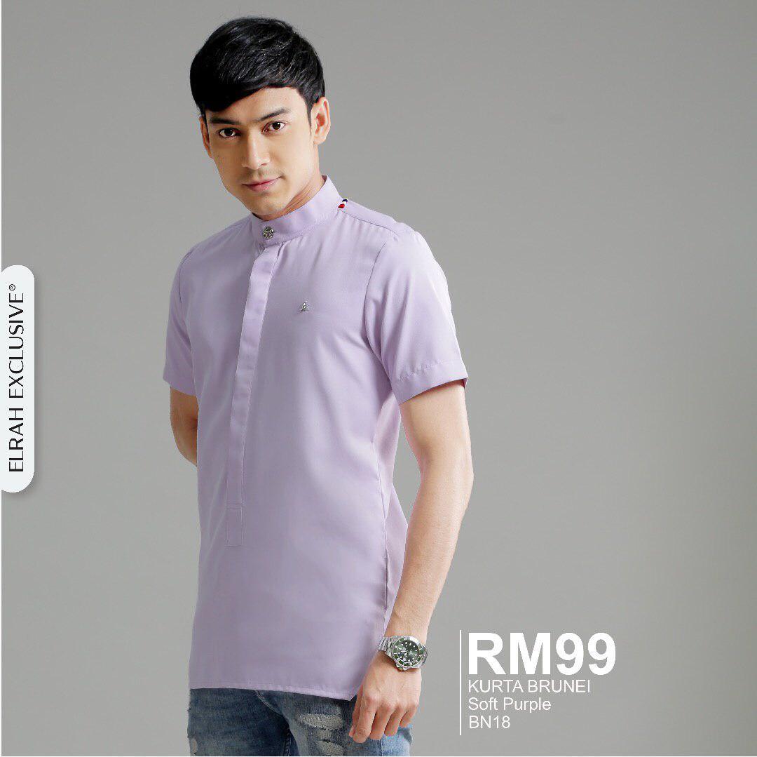 Kurta Brunei Soft Purple