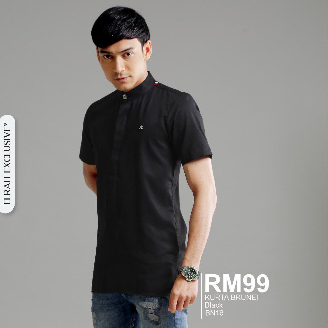 Kurta Brunei Black