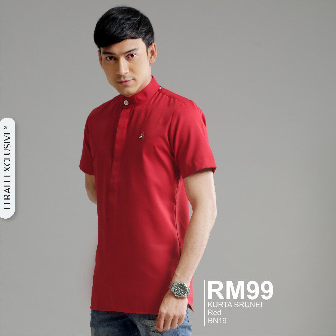 Kurta Brunei Red