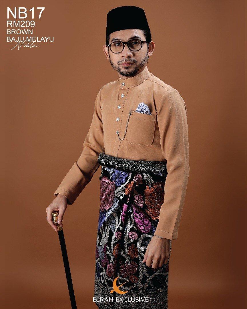 Baju Melayu Noble Brown